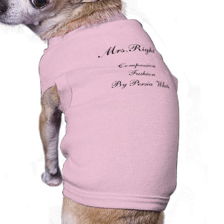 Mrs.Right, Compassion Fashion By Persia White Shirt