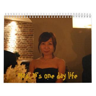 Mrs. Yi 's Calendar - i lluv this