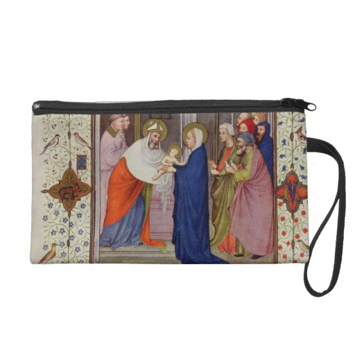 MS 11060-11061 Hours of Notre Dame: None, The Pres Wristlet Clutches