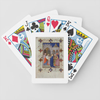 MS 11060-11061 Hours of Notre Dame: None, The Pres Bicycle Playing Cards