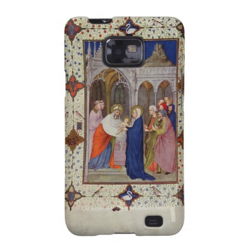 MS 11060-11061 Hours of Notre Dame: None, The Pres Samsung Galaxy SII Cover