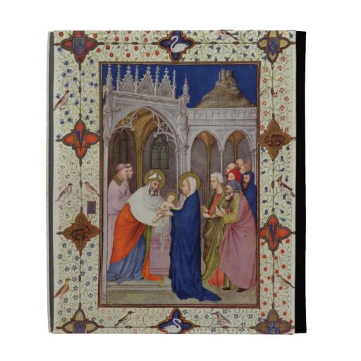MS 11060-11061 Hours of Notre Dame: None, The Pres iPad Folio Cases