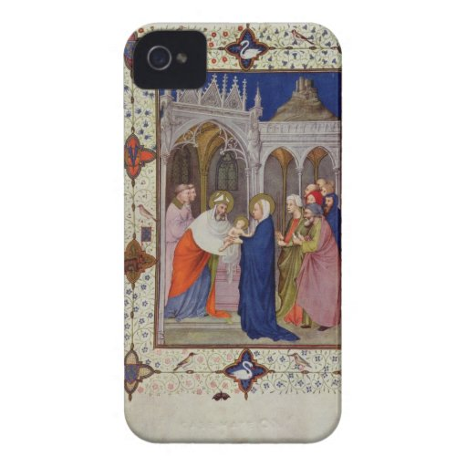 MS 11060-11061 Hours of Notre Dame: None, The Pres iPhone 4 Cover