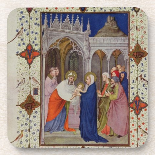 MS 11060-11061 Hours of Notre Dame: None, The Pres Coaster