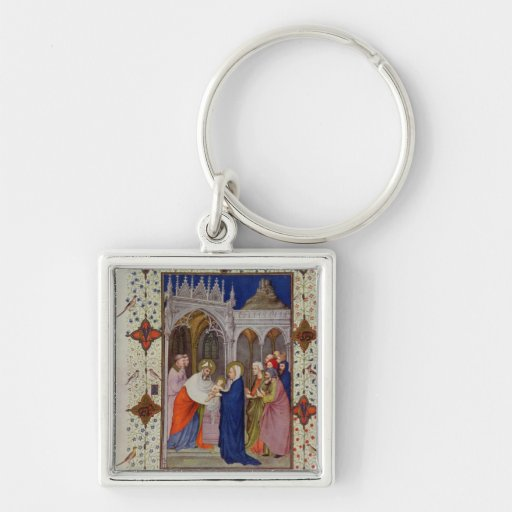 MS 11060-11061 Hours of Notre Dame: None, The Pres Key Chains