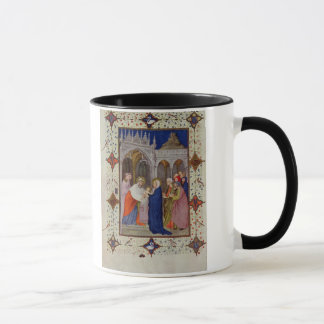 MS 11060-11061 Hours of Notre Dame: None, The Pres Mug