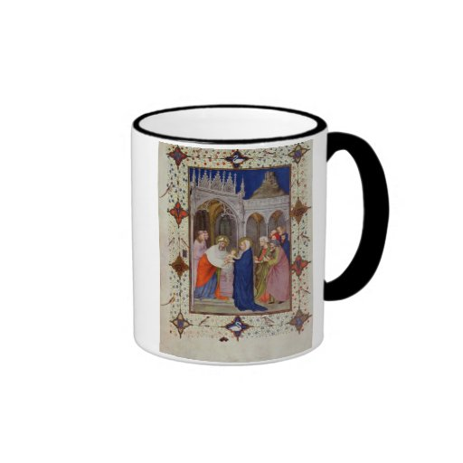 MS 11060-11061 Hours of Notre Dame: None, The Pres Mugs