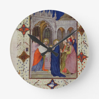 MS 11060-11061 Hours of Notre Dame: None, The Pres Round Clock