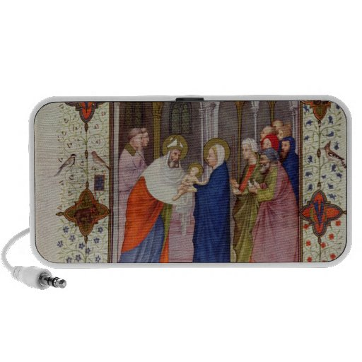 MS 11060-11061 Hours of Notre Dame: None, The Pres Laptop Speaker