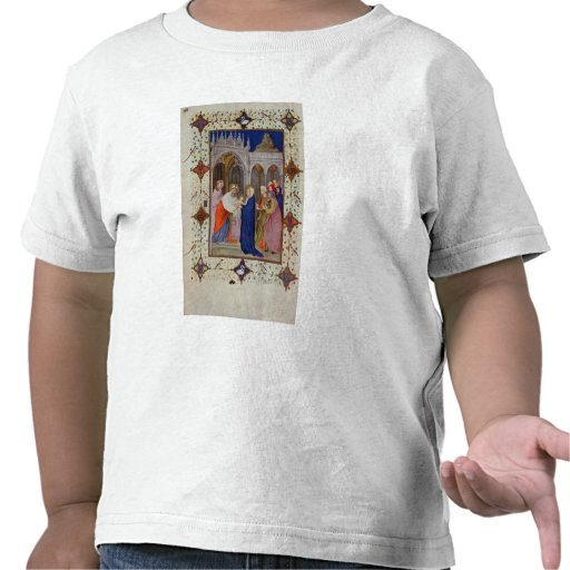 MS 11060-11061 Hours of Notre Dame: None, The Pres T-shirt