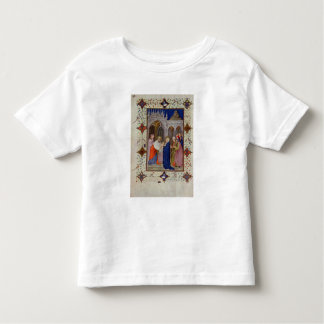 MS 11060-11061 Hours of Notre Dame: None, The Pres Shirt