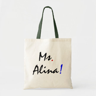 Ms. Alina IV Budget Tote Bag
