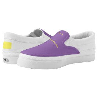 Ms. B-Zipz Slip On Shoes, US Men 4 / US Women 6 Printed Shoes