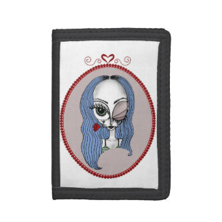 Ms. Blue Belle, Alien Wallet