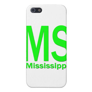MS Mississippi plain green iPhone 5/5S Cover