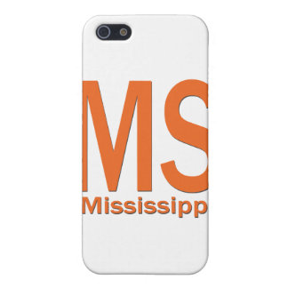 MS Mississippi plain orange Cover For iPhone 5/5S
