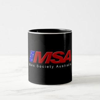 MSA Black Mug