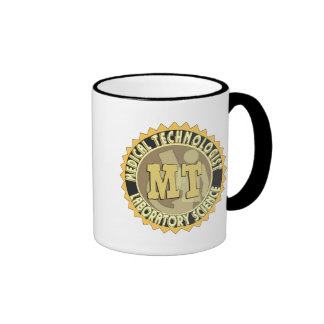 MT BADGE MEDICAL TECHNOLOGIST - LABORATORY RINGER MUG