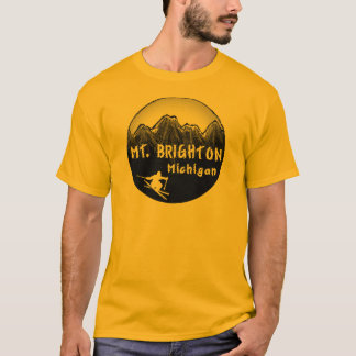 Ski Michigan T Shirts T Shirt Printing