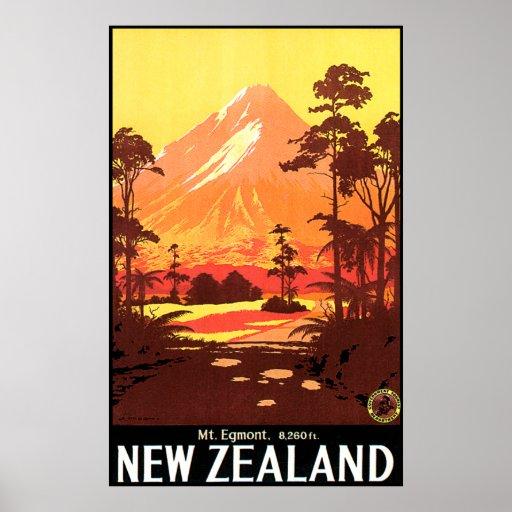 Mt. Egmont New Zealand Print