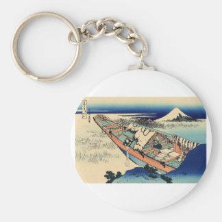 Mt. Fuji view 36 Key Ring