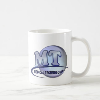 MT FunBlue LOGO - MEDICAL  TECHNOLOGIST LABORATORY Basic White Mug