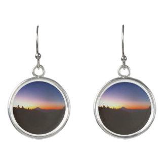 MT. Hood sunset earrings