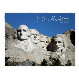 Mt. Rushmore Postcard