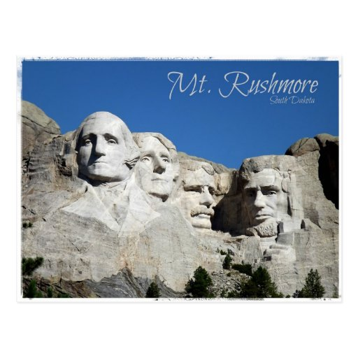 Mt. Rushmore Post Cards
