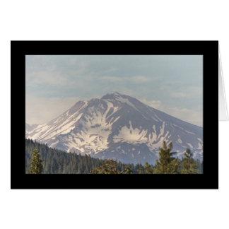 Mt. Shasta Card