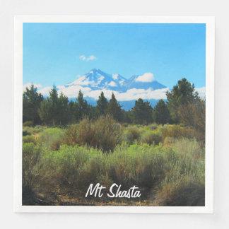 Mt Shasta Disposable Napkins