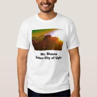 Mt. Shasta Golden City of Light Tees