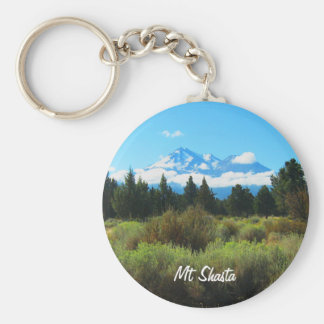 Mt Shasta Key Ring