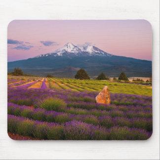 Mt. Shasta Lavender Sunset... Mouse Pad