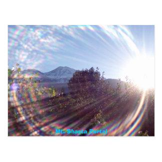 Mt. Shasta Portal Postcard