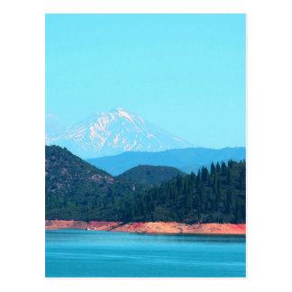 Mt Shasta Postcard