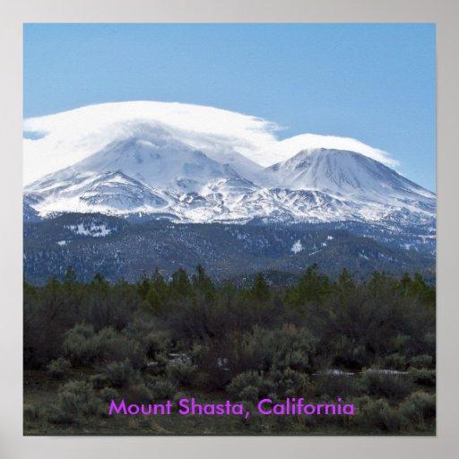 Mt. Shasta Posters