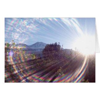 Mt. Shasta Sunrise Greeting Card