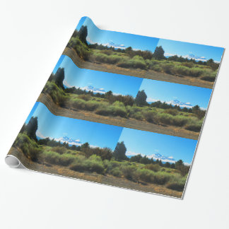Mt Shasta Wrapping Paper