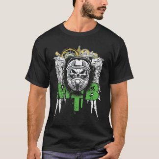 MTB Downhill emblem T-shirt
