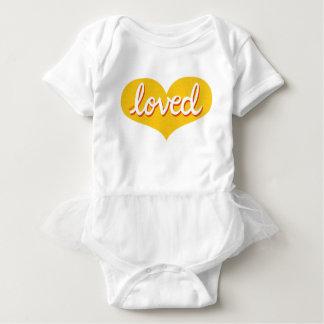 MUCH LOVED - Baby girl tutu bodysuit