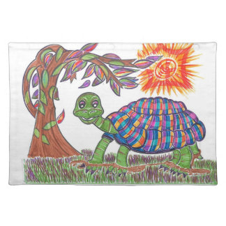 Mudpud the Turtle in the Sun Placemat