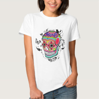 Muerte Day of the Dead Illustration Tshirts