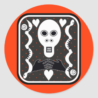 Muerto Classic Round Sticker