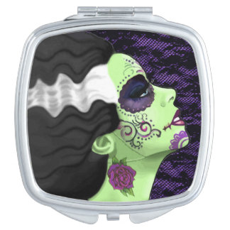 Muertos Bride Mirror For Makeup