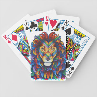 Mufasa's new hair do poker deck