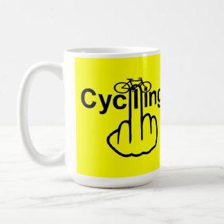 Mug Bird Flipping Cycling Flip