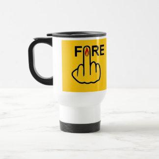 Mug Bird Flipping Fire Flip