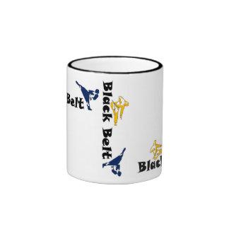 mug coffe black belt martial arts