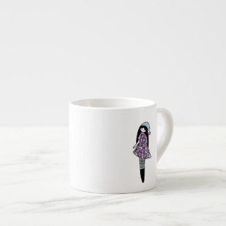 Mug for kids 6 oz ceramic espresso cup